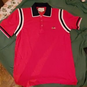 Gucci polo with bee worn 7 times